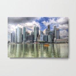 Singapore Marina Bay Sands Metal Print
