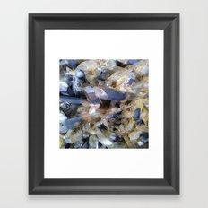 Mineral background Framed Art Print
