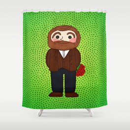 My date Shower Curtain