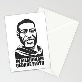 George Floyd In Memoriam Stationery Cards