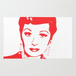 Lucille Ball | Pop Art Rug
