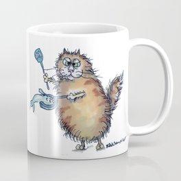 Fry Um Up Fat Cat  Coffee Mug