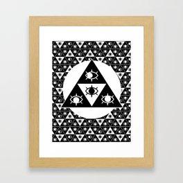 gEYEometric Framed Art Print