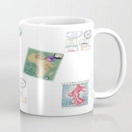 Stamp collection Coffee Mug