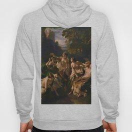 "1853 Classical Masterpiece ""Florinda"" by Franz Xaver Winterhalter Hoody"