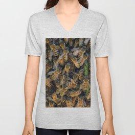 Beautiful Bees Unisex V-Neck