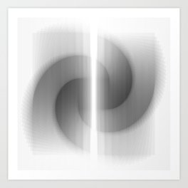 recursion - 1 Art Print
