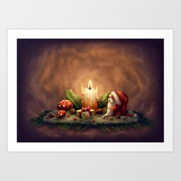 Light a Candle Art Print