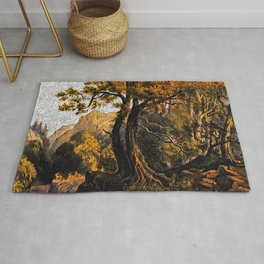 Summer in the Forest Rug