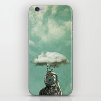 rain iPhone & iPod Skins featuring Rain by Seamless
