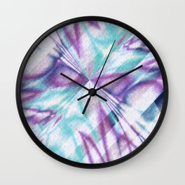 Pattern 7 Wall Clock