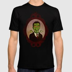 Prophets of Fiction - H.P. Lovecraft /Cthulhu Mens Fitted Tee Black MEDIUM