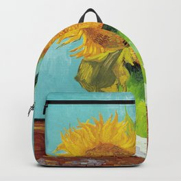 Vincent van Gogh - Three Sunflowers Backpack
