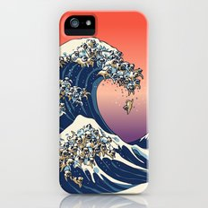 The Great Wave of Pug Slim Case iPhone (5, 5s)