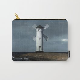 The white windmill Carry-All Pouch