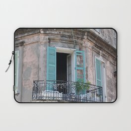 New Orleans French Quarter Balcony Laptop Sleeve