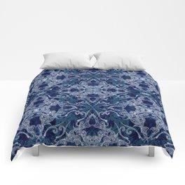 Victorian Era royal & sky blue Comforters