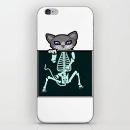 X-ray Cat iPhone Skin