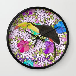 tucán Wall Clock