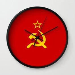 Flag of USSR Wall Clock