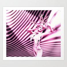 Lili Burlesque Art Print