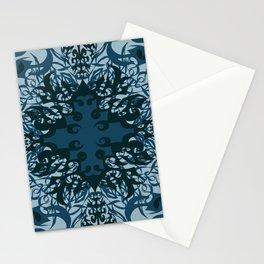 Moody blues - Mosaic Stationery Cards