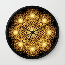 Sparks Mandala Wall Clock