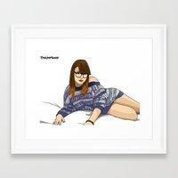 jasmine Framed Art Prints featuring Jasmine by Doktorsour