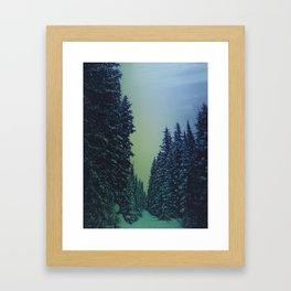 Dark Things Framed Art Print