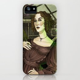 The Mother of Science Fiction  iPhone Case