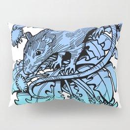 Rat & Dandelion Pillow Sham