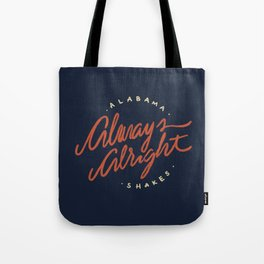 Alabama Shakes Tote Bag