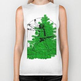 da vinci's Tree Biker Tank