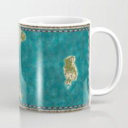 Pirate Adventure Map Coffee Mug