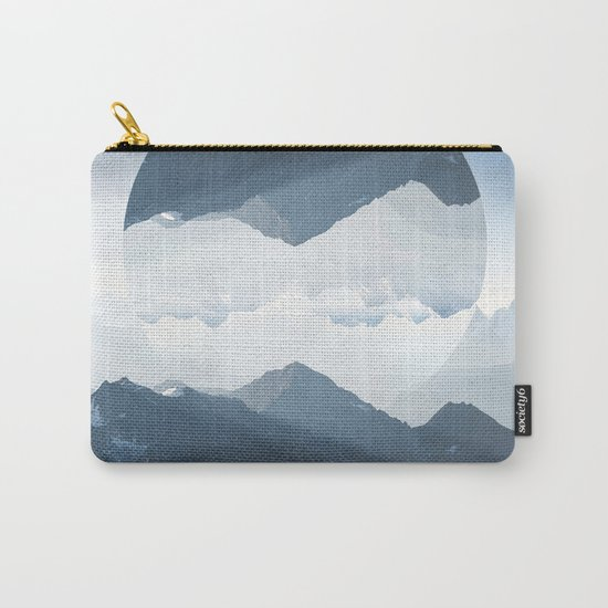 High mountain in morning time Carry-All Pouch