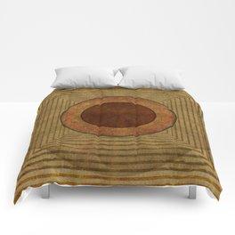 """Golden Circle Japanese Vintage"" Comforters"