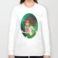 sailor jupiter Long Sleeve T-shirts featuring Sailor jupiter by Tae V