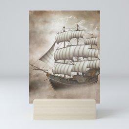 Cloud Ship Mini Art Print