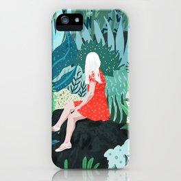 Forest Gaze iPhone Case