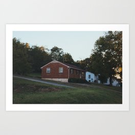 Nashville House 3 Art Print