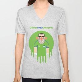 Clint Dempsey - Seattle Sounders  Unisex V-Neck
