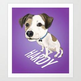 Hardy Boi Art Print