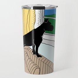 Pitbull Lookout Travel Mug