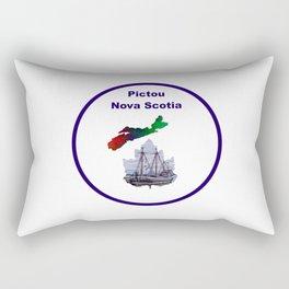Pictou Nova Scotia Design Rectangular Pillow