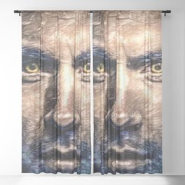 are you a mutant? Sheer Curtain