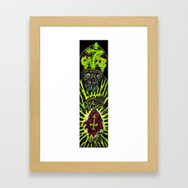 hyprocracy board color variant Framed Art Print