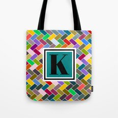 K Monogram Tote Bag