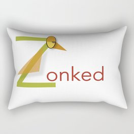 Zonked Rectangular Pillow