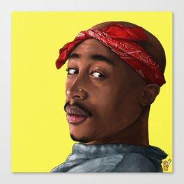 Pac Portrait Canvas Print