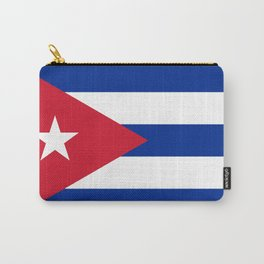 Flag of Cuba - Banner version (High Quality Image) Carry-All Pouch